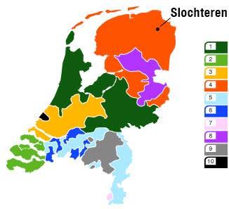 Energie vergelijken in de provincie Zuid-Holland: gasregio 1, 3 en 10