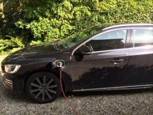 semi-elektrische auto