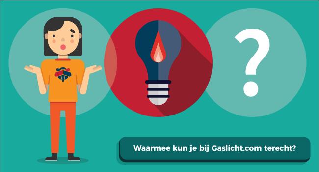 Met welke energievragen kun je bij Gaslicht.com terecht