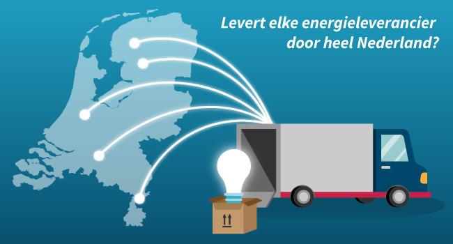 Gas Licht Vergelijken : Levert elke energieleverancier stroom en gas door heel nederland
