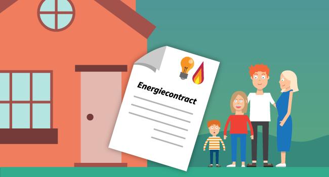 beste energiecontract jong gezin