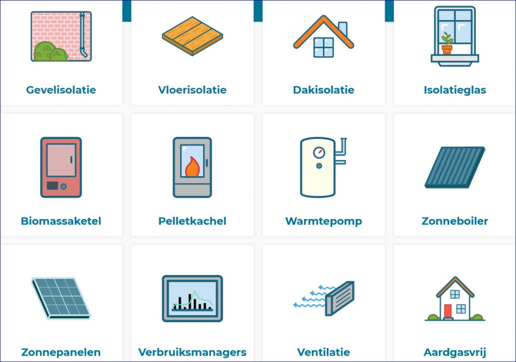 12 verbeteropties voor een energiezuinig en duurzaam huis.
