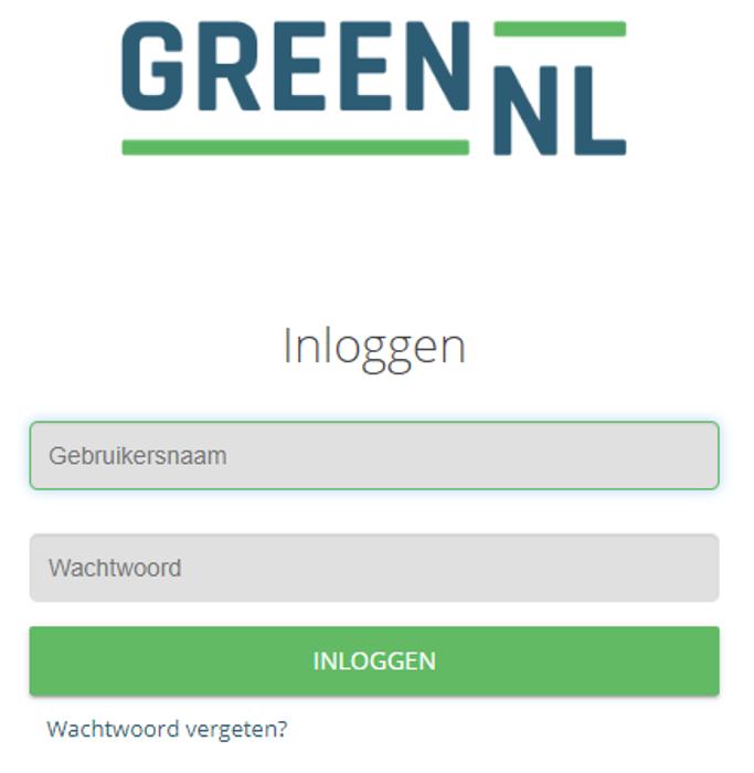 Online Omgeving GreenNL