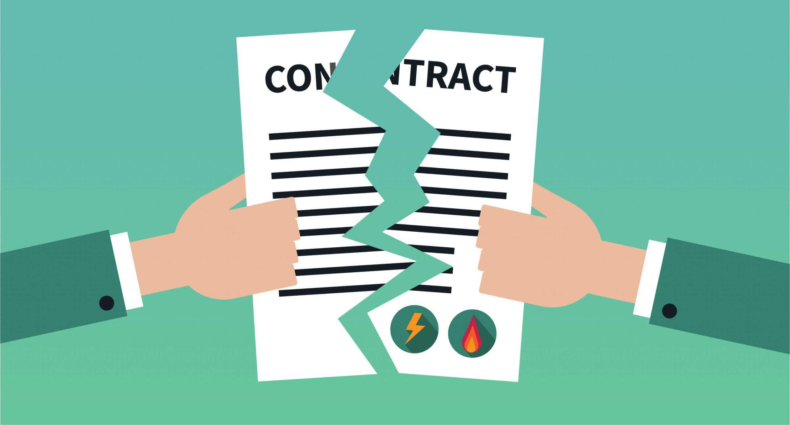 Is het openbreken van mijn contract verstandig?