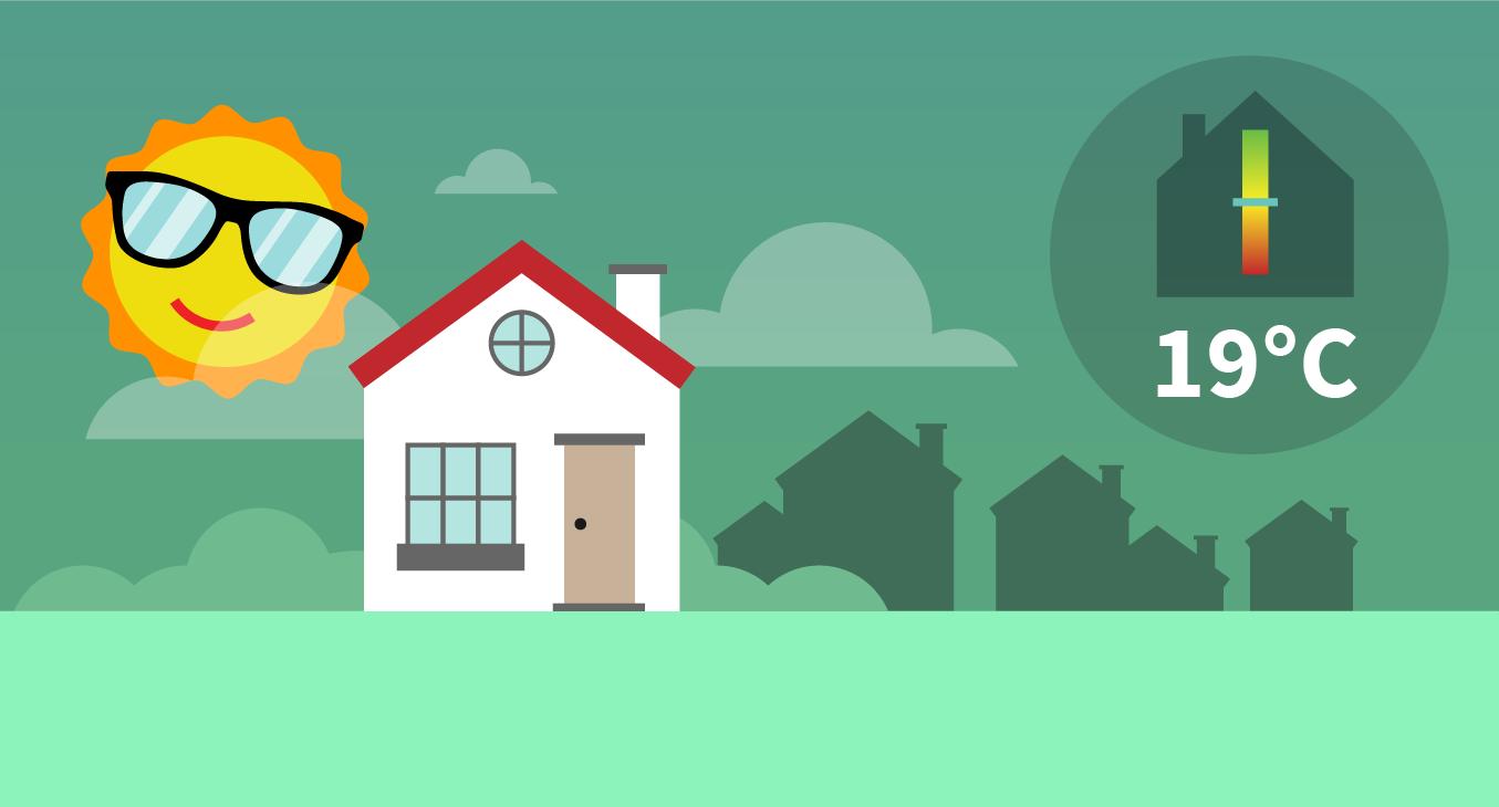 Energiezuinig je huis koelen deze zomer